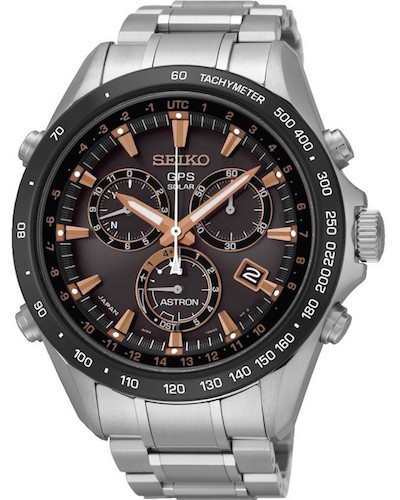 Seiko Astron med GPS funktion.